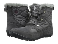 Columbia Minx Shorty Omni Heat Shale Dark Raspberry Women's Hiking Boots Gray