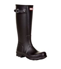 Hunter Original Back Adjustable Tall Welly Male Black