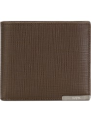Tod's Foldover Wallet Brown