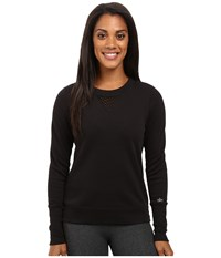 Alo Yoga Downtown Long Sleeve Top Black Black Women's Workout