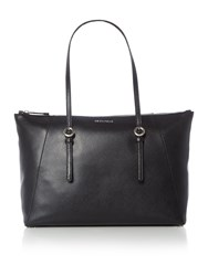 Coccinelle Mel Black Ew Tote Shoulder Bag Black