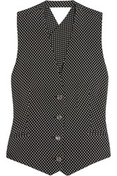 Temperley London Phoenix Jacquard Vest Black