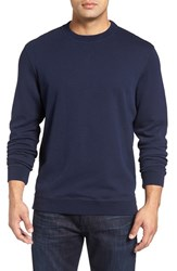 Bugatchi Men's Crewneck Sweatshirt Navy