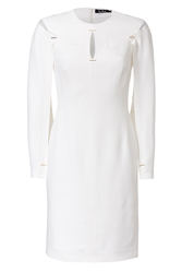 Marios Schwab Shift Dress With Cape Sleeves