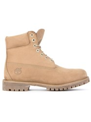 Timberland Lace Up Hiker Boots Brown