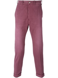 People People 'Nettuno' Slim Jeans Pink And Purple