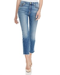 7 For All Mankind Timeless Slim Straight Jeans In Ibiza Island Compare At 198