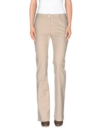 Class Roberto Cavalli Trousers Casual Trousers Women Beige