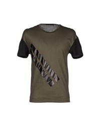 Kai Aakmann Kai Aakmann Topwear T Shirts Men Military Green