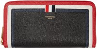 Thom Browne Tricolor Cricket Stripe Long Wallet