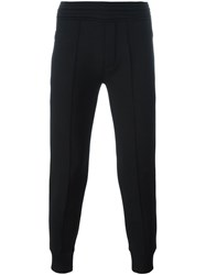Neil Barrett Zipped Pocket Track Pants Black