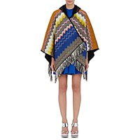 Missoni Women's Hooded Poncho No Color