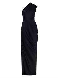 Camilla And Marc Sea Sparrow One Shoulder Gown