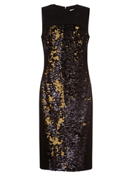 Damsel In A Dress Damsel In Dress Trevano Dress Black Gold