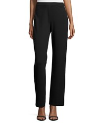 Joan Vass Full Length Pants Black Petite
