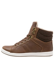 Anna Field Hightop Trainers Brown