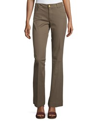 Minnie Rose Flare Leg Stretch Twill Pants Canteen