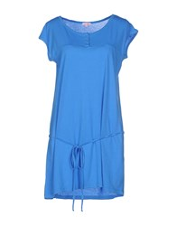 Sun 68 Dresses Short Dresses Women Azure