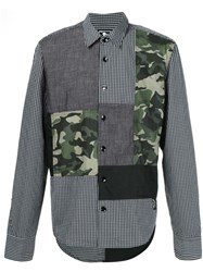 Prps Patchwork Shirt Black