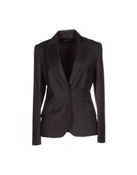 Aquascutum London Aquascutum Suits And Jackets Blazers Women Dark Brown