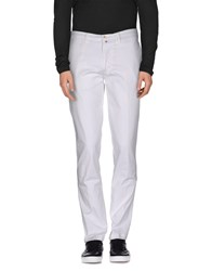 Jaggy Trousers Casual Trousers Men White