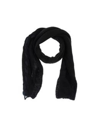 Made For Loving Oblong Scarves Black