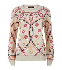 Juicy Couture Swirl Embroidered Co Ord Sweatshirt Female Multi