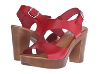 Eric Michael Ginger Red High Heels