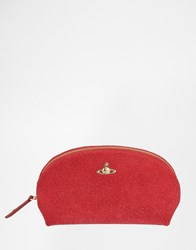 Vivienne Westwood Orb Angel Make Up Bag Red