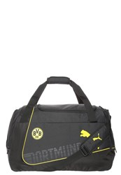 Puma Bvb Evopower Sports Bag Cyber Yellow Black
