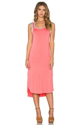 Splendid Midi Tank Dress Pink