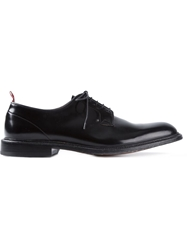 Green George Classic Derby Shoes Black