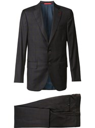 Isaia Two Piece Suit Brown