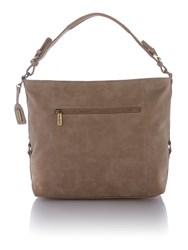 Ollie And Nic Edna Neutral Large Shoulder Bag Neutral