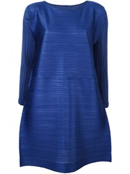 Issey Miyake Pleats Please By Pleated Tunic Blue
