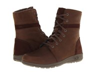 Chaco Natilly Chocolate Brown Women's Lace Up Boots
