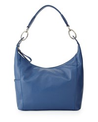 Longchamp Le Foulonne Small Hobo Bag Blue