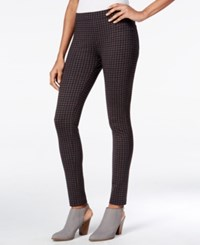 Sanctuary Grease Gingham Leggings Brick Harper Plaid