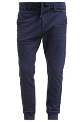 Scotch And Soda Trousers Navy Dark Blue