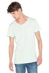 Scotch And Soda Oil Washed Deep V Neck Tee Mint