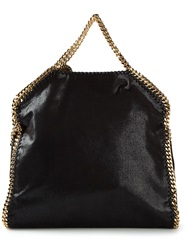 Stella Mccartney Medium 'Falabella' Fold Over Tote Black