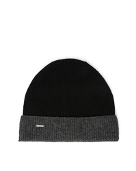 Diesel Grey And Black Dunty Wool And Cashmere Hat
