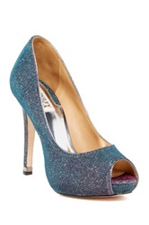 Badgley Mischka Humbie Iv Peep Toe Pump Gray
