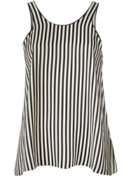Forte Forte Striped Top Black