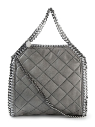 Stella Mccartney 'Falabella' Quilted Tote Grey
