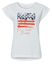 Esprit Sports Print Tshirt White