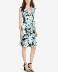 American Living Floral Print Dress White
