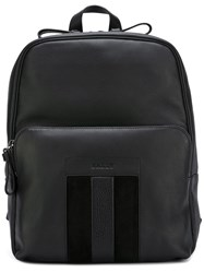 Bally Zipped Backpack Black
