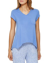 Ellen Tracy Chic In Chelsea Sleep Tee Blue