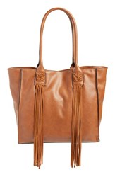 French Connection 'Laurel' Tote Brown Nutmeg